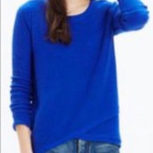 Madewell Knit Sweater Blue pullover